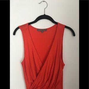 Red/orange Maxi Dress